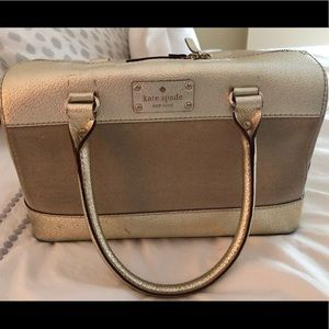 Kate Spade Gold Purse Handbag